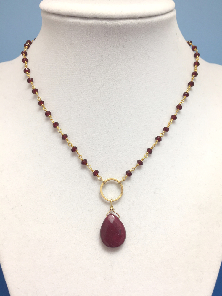 and chain amethyst gold filled forever beads with necklace gfnk briolette in